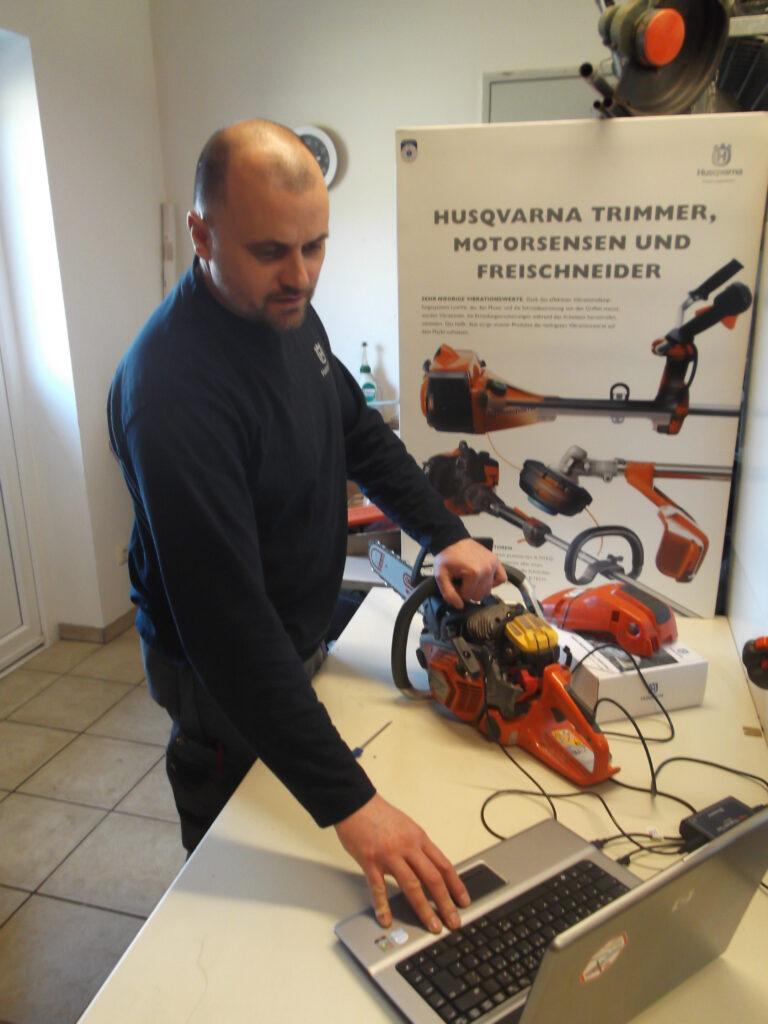 Service in der Werkstatt